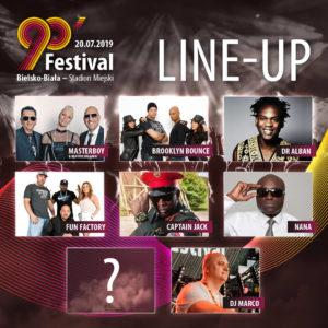 Gwiazdy 90' Festival 2019
